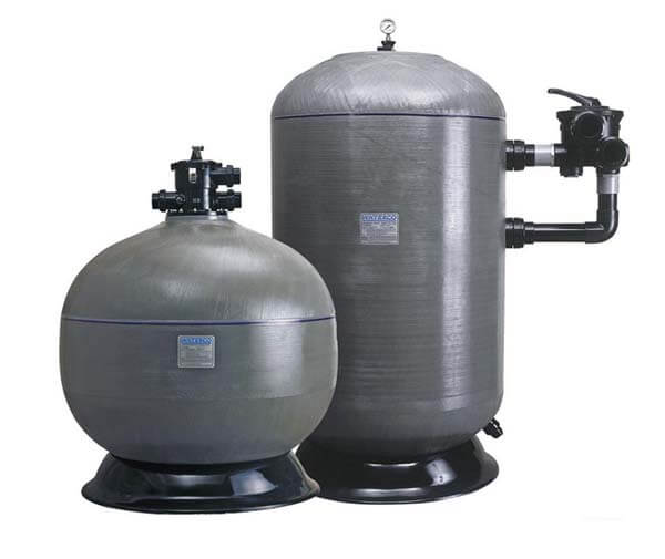 泳池水处理设备砂缸简介