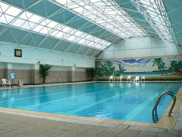 辽宁开大建设集团游泳池恒温加热设备方案