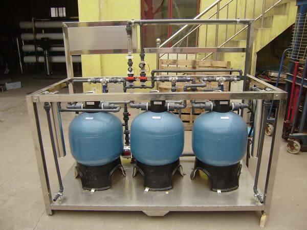 泳池循环水处理设备机房设计