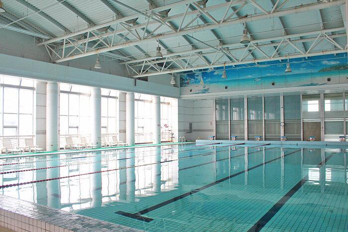 郑州市实验中学室内游泳池循环水设备案例