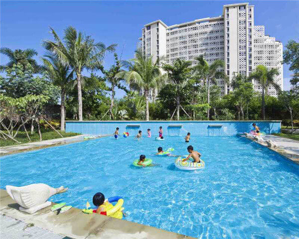 山东巨野县幼儿园水上乐园游泳池循环设备案例