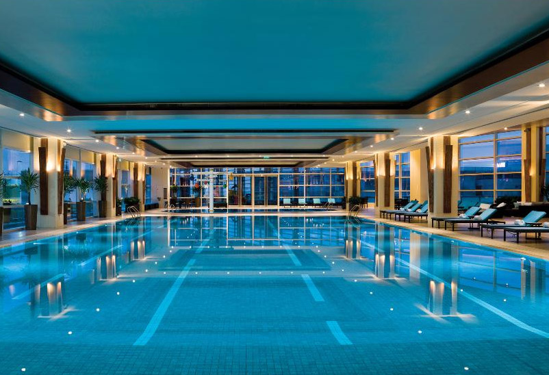 郑州港区酒店游泳池设计方案案例