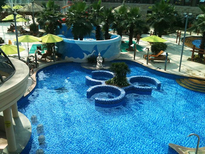 郑信公园泳池砂缸过滤器水处理设备方案