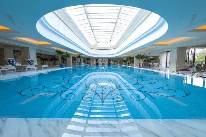 河北保定新领地健身泳池水处理设备案例