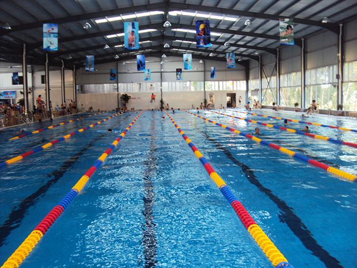 山西宝鸡全民健身中心恒温游泳池项目案例