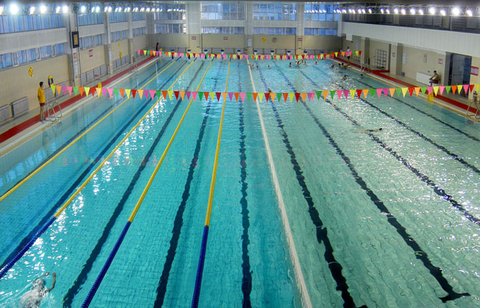 焦作北大附中室内泳池水处理项目