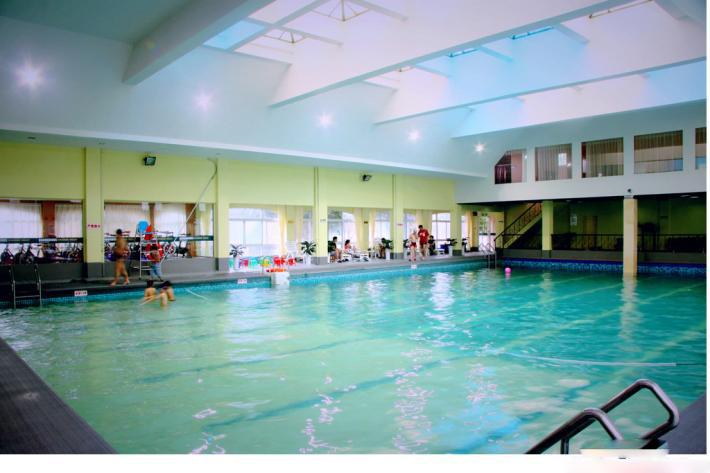 郑州试验中学游泳池水处理项目案例