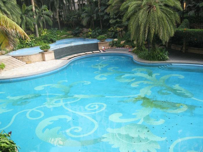 海南三亚别墅游泳池设备
