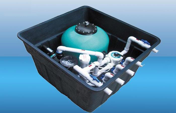 地埋式一体化泳池设备介绍