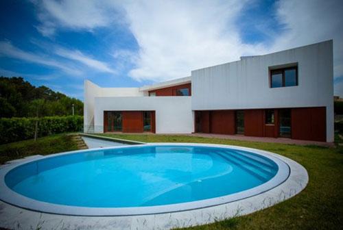 别墅游泳池设计造型你喜欢哪种