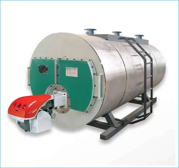 燃气锅炉游泳池水加热设备